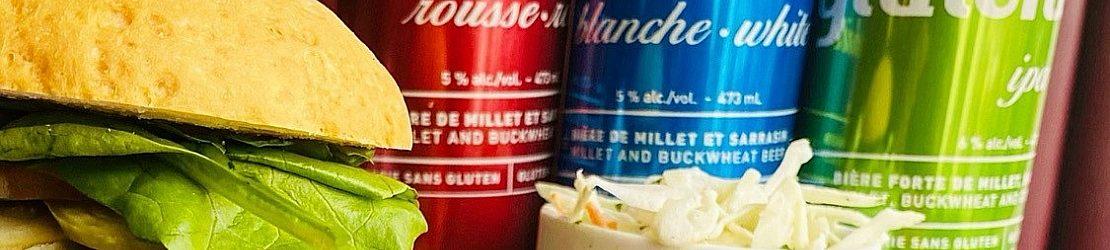 Burger et bières sans gluten écran large2